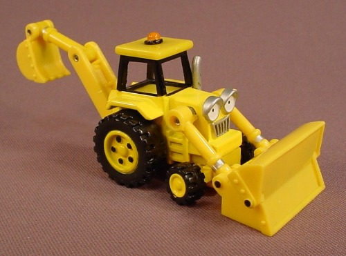 Bob The Builder Scoop Excavator Diecast Metal & Plastic Vehicle, 2004 Learning Curve