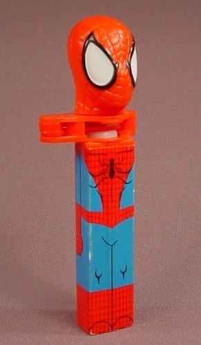 Klik Spider-Man Candy Dispenser, Spiderman, Marvel, 2004 Pez