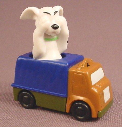 McDonalds 101 Dalmatians Dog With His Paws Over His Eyes While Riding In A Truck, 102