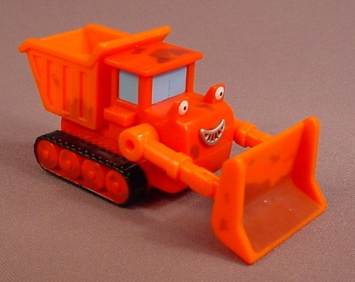 Bob The Builder Washable Dirty Muck Vehicle From A Fix N' Clean Roadway Play Set, 4 1/4 Inches Long