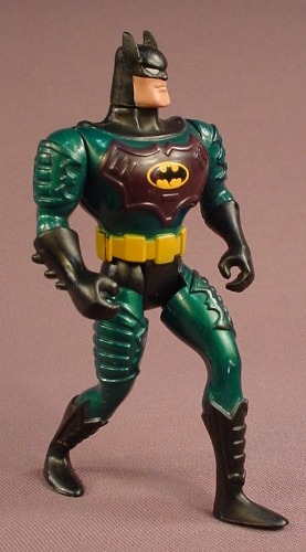 Batman Ground Assault Action Figure, 4 3/4 Inches Tall, Animated Series, #63657, 1994 Kenner