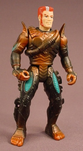 Aliens Space Marine Atax Action Figure, 4 3/8 Inches Tall, Series 2, Fox, A.T.A.X., 1993 Kenner