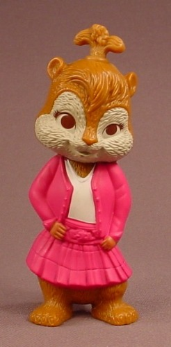 Alvin & The Chipmunks The Squeakuel Brittany Talking Chipette Figure, 3 3/4 Inches Tall, 2010