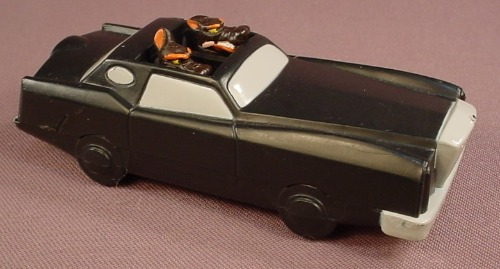 Disney Oliver & Company Oscar Desoto Pop Up Car, 4 1/4 Inches Long, 1996 Burger King