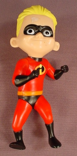 Disney The Incredibles Dash Figure, 5 Inches Tall, 2005 McDonalds, The Arms & Legs Move