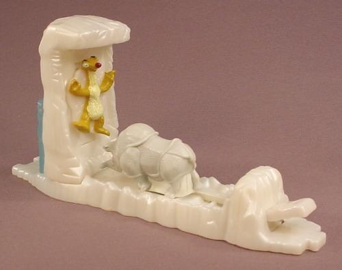 Ice Age Rhino's Revenge Toy, 2002 Burger King