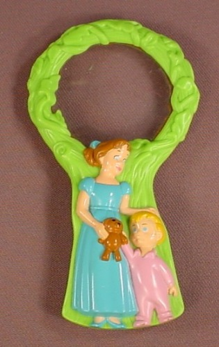 Disney Peter Pan Magnifying Glass With Wendy & Michael, 4 5/8 Inches Long, 2007 McDonalds