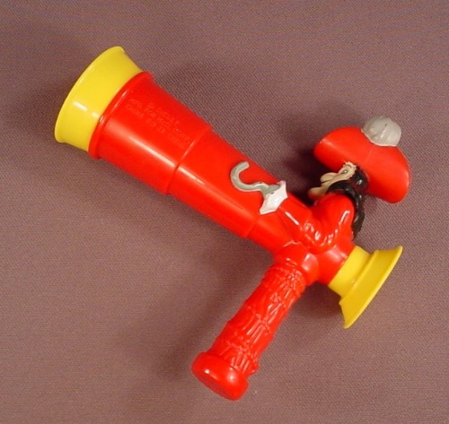 Disney Peter Pan Captain Hook Spyglass Telescope Viewer, 4 5/8 Inches Long, 2007 McDonalds