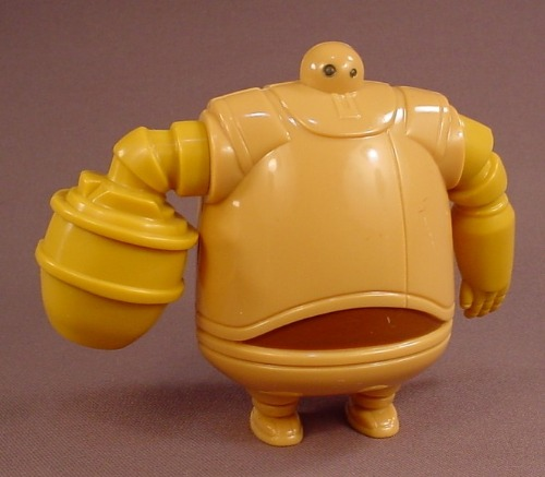 Astro Boy The Movie Zog Robot Figure With A Back Panel That Opens, 4 1/4 Inches Tall, 2009 McDonalds