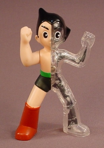 Astro Boy The Movie Figure With A Punching Arm, 4 Inches Tall, 2009 McDonalds