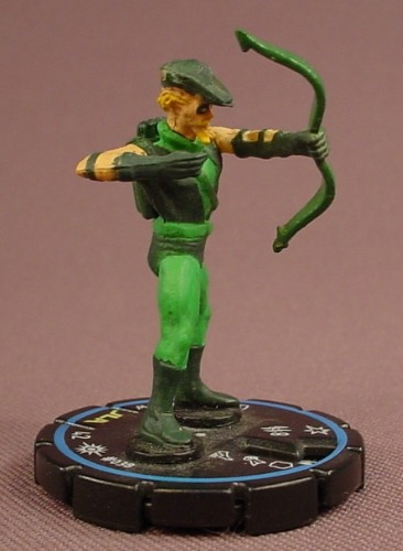 Heroclix Green Arrow #038, Experienced, Uncommon, DC Comics Cosmic Justice, 2003