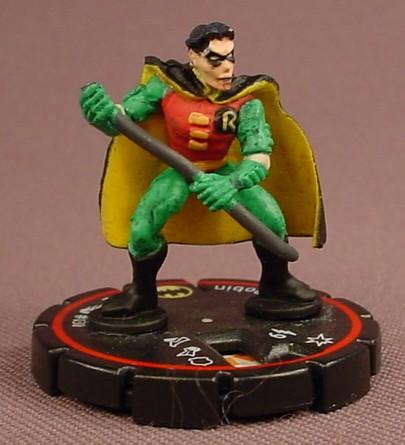 Heroclix Robin #030, Veteran, Common, DC Comics Hypertime, 2002