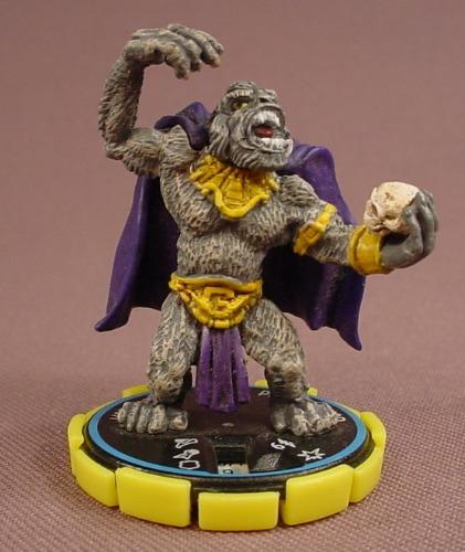 Heroclix Gorilla Grodd #071, Experienced, Rare, DC Comics Hypertime, 2002