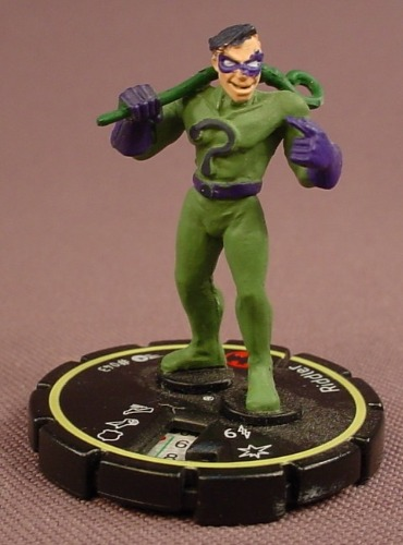 Heroclix Riddler #043, Rookie, Uncommon, DC Comics Hypertime, 2002
