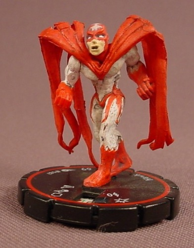 Heroclix Hawk #087, Veteran, Rare, DC Comics Hypertime, 2002