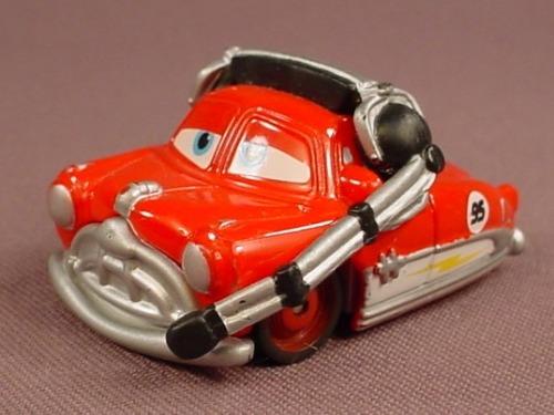 Disney Pixar Cars Movie Mini Adventures Lightning McQueen's Team Fabulous Hudson Hornet Car
