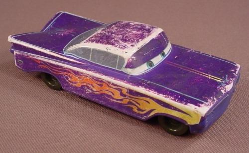 Disney Pixar Cars Movie Purple Ramone Wind Up Car, 4 Inches Long, 2006 McDonalds