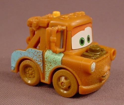 Disney Pixar Cars Movie Mater Tow Truck From A Banshee Play Set, 1 7/8 Inches Long, M2281 Mattel