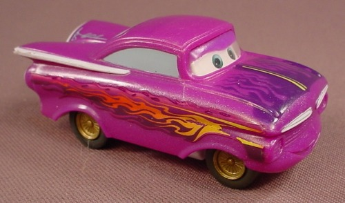 Disney Pixar Cars Movie Ramone Car With A Pull Back Motor, 3 Inches Long, H6439 Mattel