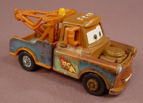 Disney Pixar Cars Movie Diecast Race Team Mater 3 1 4 Inches Long
