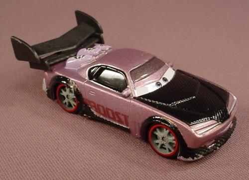 Disney Pixar Cars Movie Diecast Purple Boost Car 3 1 2 Inches