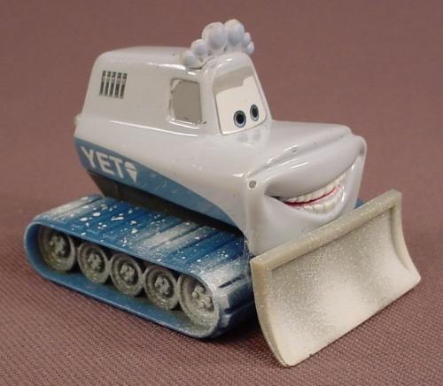 Disney Pixar Cars Movie Diecast Yeti Tracked Snow Plow, 2 Inches Long, Die Cast Metal, Snowplow