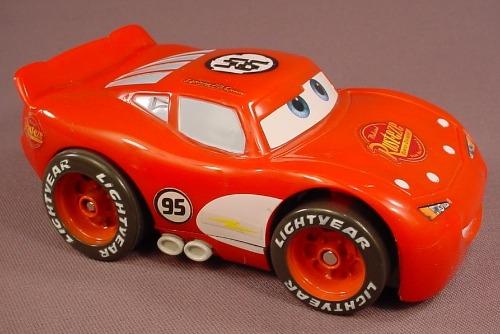 Disney Pixar Cars Movie Talking Shake-N-Go Lightning McQueen Car, J5982 Mattel, Piston Cup Edition