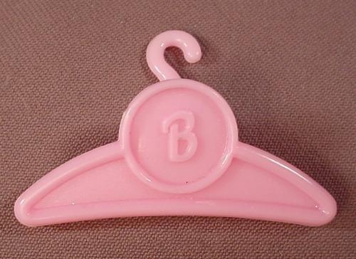 Barbie Fashion Hanger With A Clip, Barbie Logo, Mattel