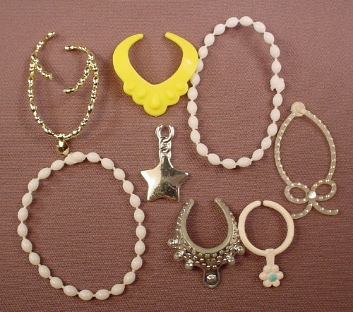 Barbie Size Lot Of Jewellery Tiaras Accessories