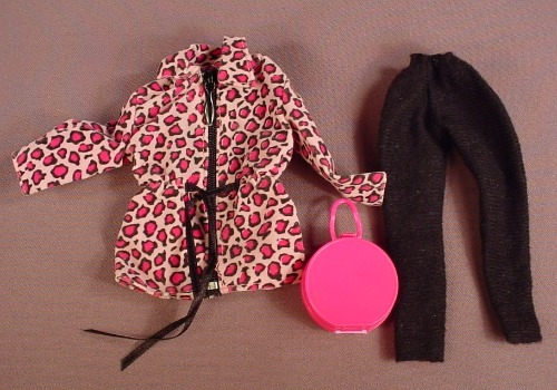 Barbie 1997 Fashion Avenue Outfit #18139, Coat Pants & Purse, Does Not Have The Boots, Mattel