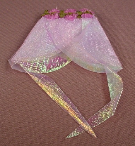 Barbie Glittery Light Purple Dance Or Fairy Skirt, Mattel, Has The Pink B Tag