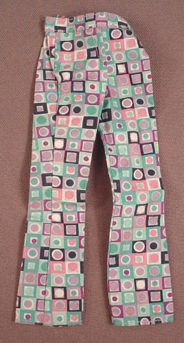 Barbie 2001 Pants From A #28866 Kitty Fun Barbie Set, Mattel