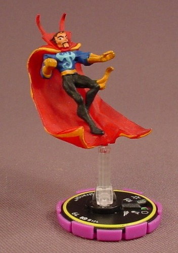 Heroclix Dr Strange 124 Rookie Rare Marvel Infinity Challenge 2002
