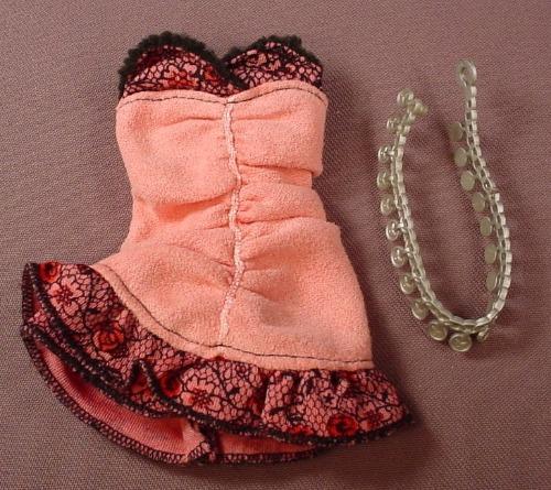 Barbie My Scene Rebel Style Kennedy Dress & Belt, Mattel