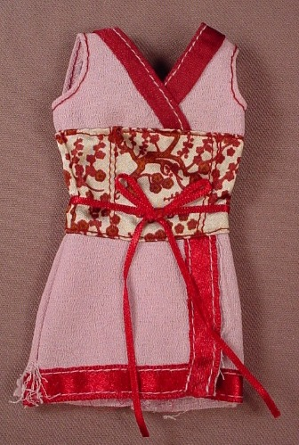 Barbie My Design Scene Lavender Dress With Burgundy Trim, H4061, Mattel