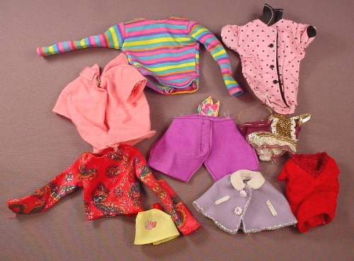 Barbie Doll Size 9 Piece Lot Of Shirts Tops Blouses