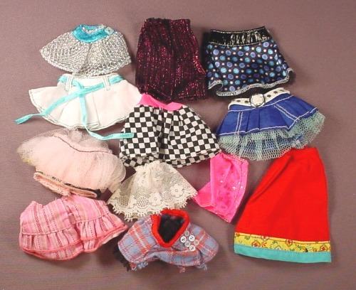 Barbie Doll Size 12 Piece Lot Of Shorts