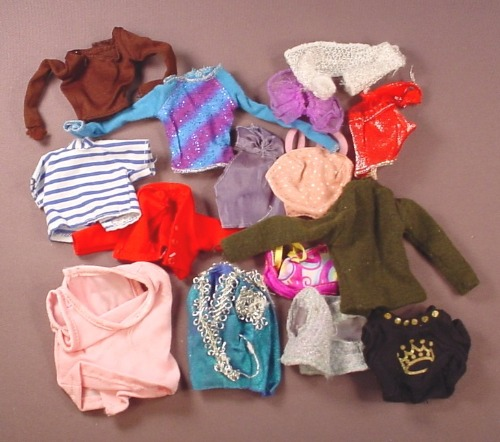 Barbie Doll Size 15 Piece Lot Of Shirts Tops Blouses