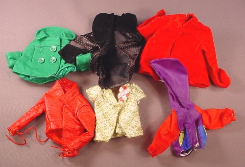 Barbie Doll Size 9 Piece Lot Of Jackets