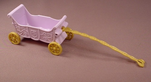 Barbie & Krissy Princess Palace Carriage Wagon, Mattel