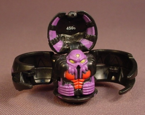 Bakugan Battle Brawlers Reaper Black Darkus, 450G, B1, Sega, Spin Master