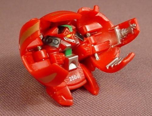 Bakugan Battle Brawlers Laserman Red Pyrus, 250G, B1, Classic, Sega, Spin Master