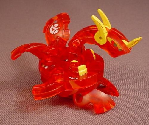 Bakugan Battle Brawlers Neo Dragonoid Red Pyrus, 610G, Translucent, Sega, Spin Master