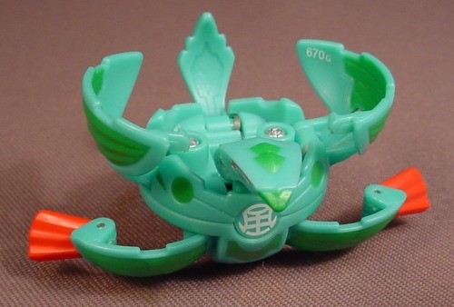 Bakugan Battle Brawlers Hawklea Green Ventus, 670G, B2, Sega, Spin Master
