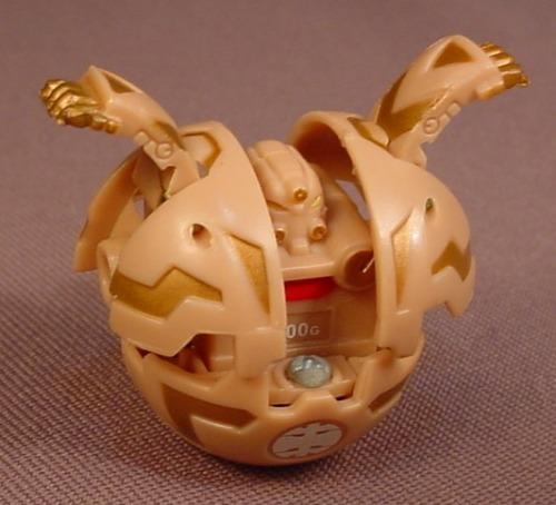Bakugan Battle Brawlers Robotallion Tan Subterra, 300G, Sega, Spin Master