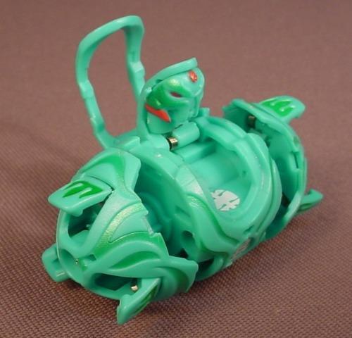 Bakugan Battle Brawlers Carlsnaut Trap Green Ventus, Sega, Spin Master