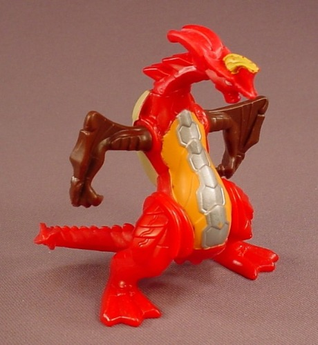 Bakugan Battle Brawlers Dragonoid Figure Toy, 4 Inches Tall, The Head & Arms Move, 2009 McDonalds