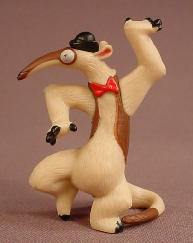 Rio 2 Movie Charlie The Anteater PVC Figure, 2 1/2 Inches Tall, 2014 Jakks