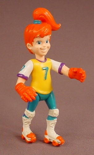 Burger King 1990 Kid's Club Boomer Action Figure Wearing Roller Blades, 4 1/2 Inches Tall