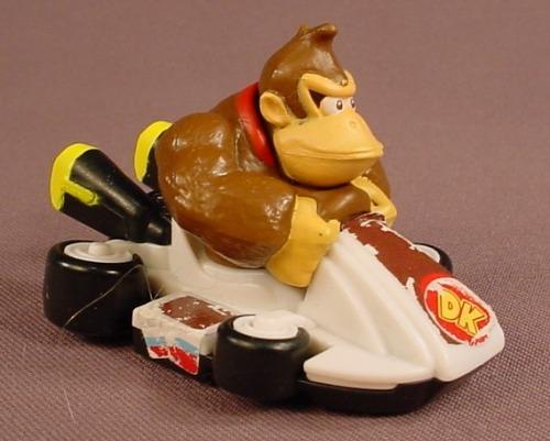 Nintendo Mario Kart Donkey Kong Racer Cart Toy, 3 Inches Long, 2014 McDonalds